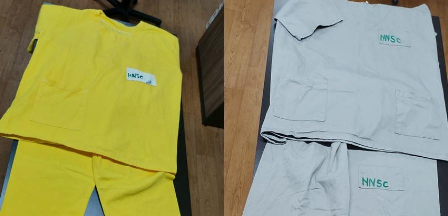 Total Têxtil faz doação de tecidos e uniformes para o HNSC