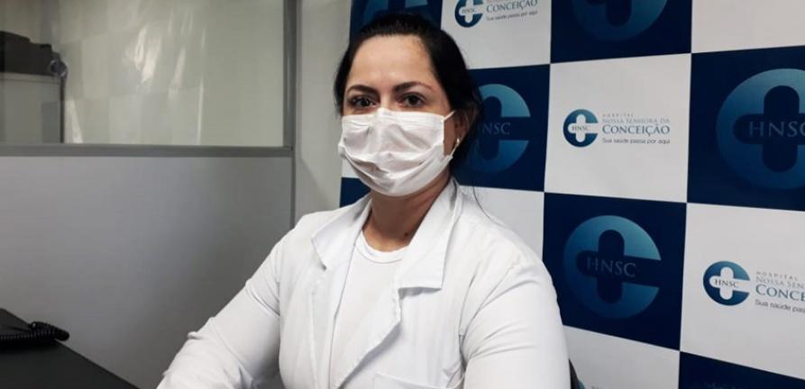 HNSC confirma baixo índice de contaminação por covid entre seus profissionais