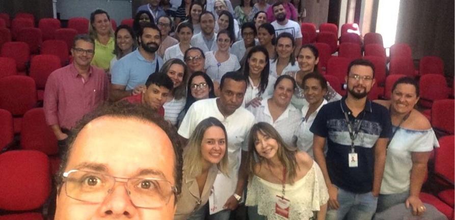 Colaboradores do HNSC participam de curso sobre boas práticas de gestão hospitalar