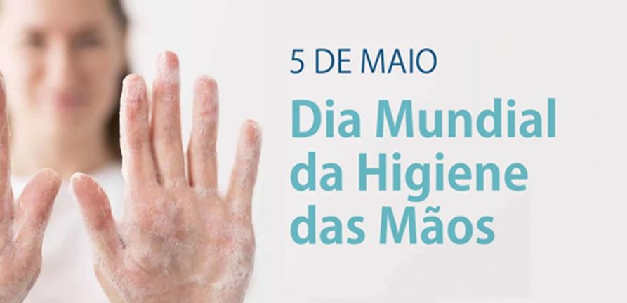5 de maio: Dia Mundial da Higiene das Mãos